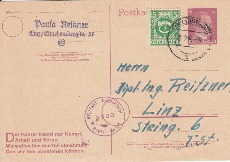 Posthornzeichnung  -  ANK 697-713  -  Belege - Seite 3 Img19
