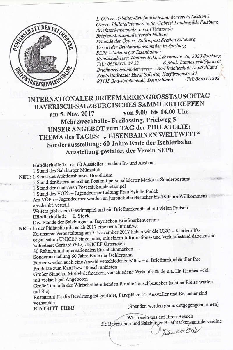 Bayrisch-Salzburgisches Sammlertreffen 05.11.2017  Img21
