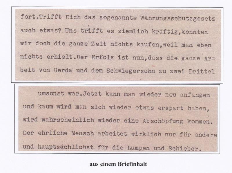 Österreich 2. Währungsreform 10.12.1947 - Belege Img23