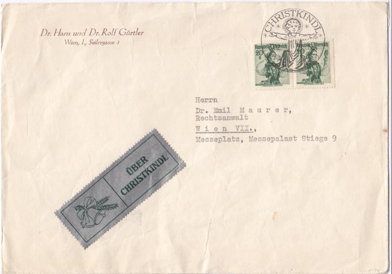 Postamt Christkindl  Leitzettel Img45