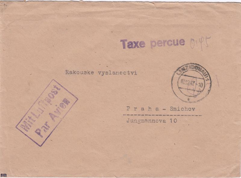 Österreich 2. Währungsreform 10.12.1947 - Belege Img49