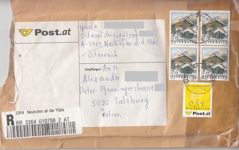 Österreich - Ergänzungsmarke  - Seite 2 Img90