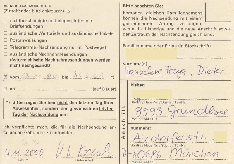 Drucksorten der Post - Nachsendungsantrag - Seite 2 Img_0159