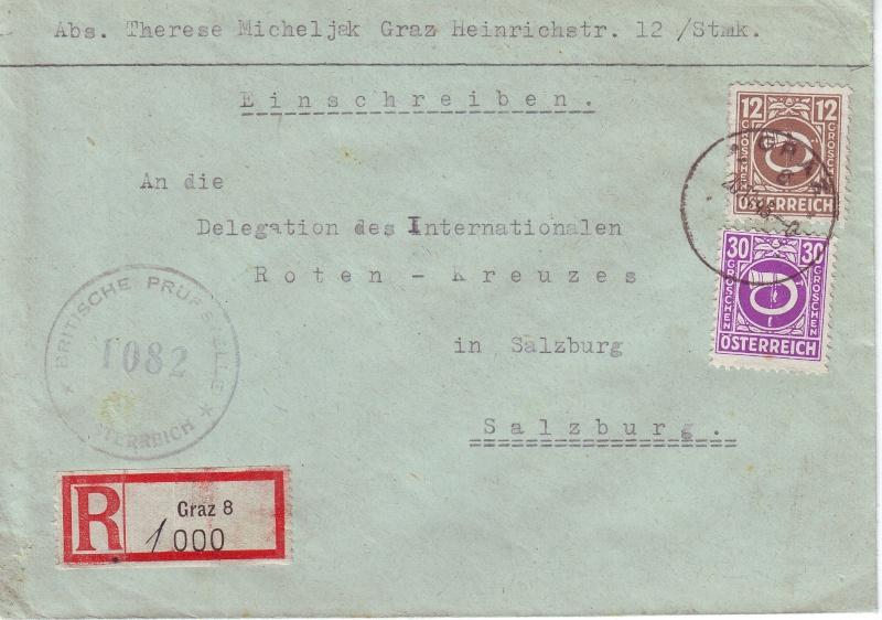 Posthornzeichnung  -  ANK 697-713  -  Belege Postho10