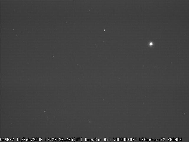 Flare molto luminoso da Scandicci M2009012