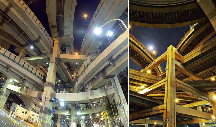 Amazing Highways,bridges & Interchanges in Japan......!!!!! Juncti10