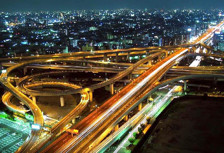 Amazing Highways,bridges & Interchanges in Japan......!!!!! We45ty10