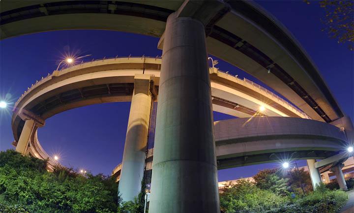 Amazing Highways,bridges & Interchanges in Japan......!!!!! Werter10