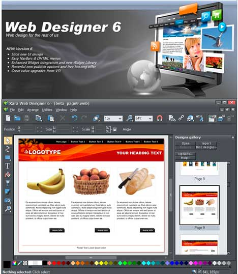 Web Designer 6.0.0.12008 | Full Software Download Web_de11