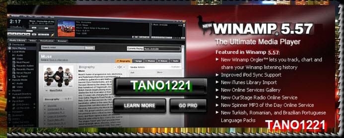 Winamp 5.572 Pro (2010) Winamp10