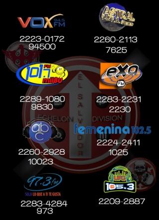 30 seconds a las radioss!! Radios10