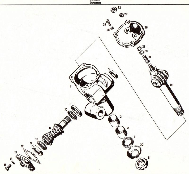 Kit d'assistance de direction pour 411  (possible 421   406 ) Boitie10