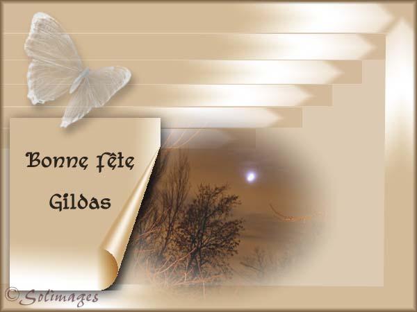 fête  à  souhaiter   - Page 6 Gildas10