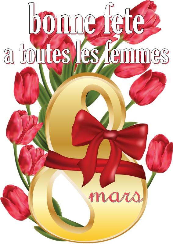 Le  8 mars, journée de la femme Journe10