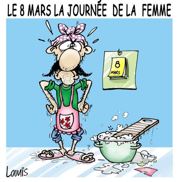 Le  8 mars, journée de la femme Journe11
