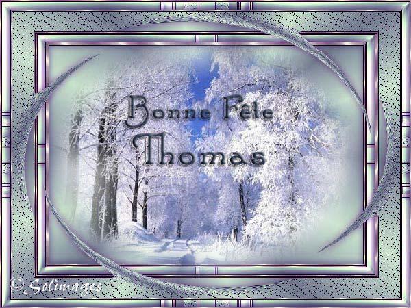 fête  à  souhaiter   - Page 6 Thomas10