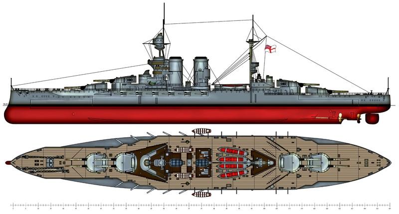 HMS WARSPITE 1/350 ème Academy édition spéciale Bd9bd311