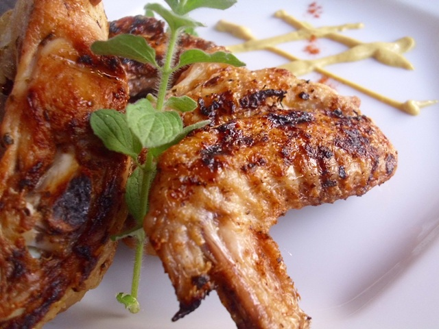 Παϊδάκια κοτόπουλο στο BBQ με εστραγκόν 601610