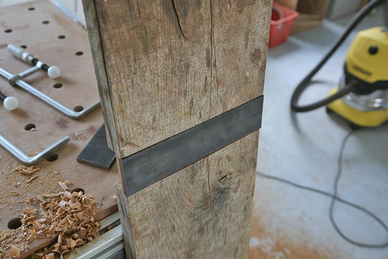 Une console bois et acier. 13_avr14