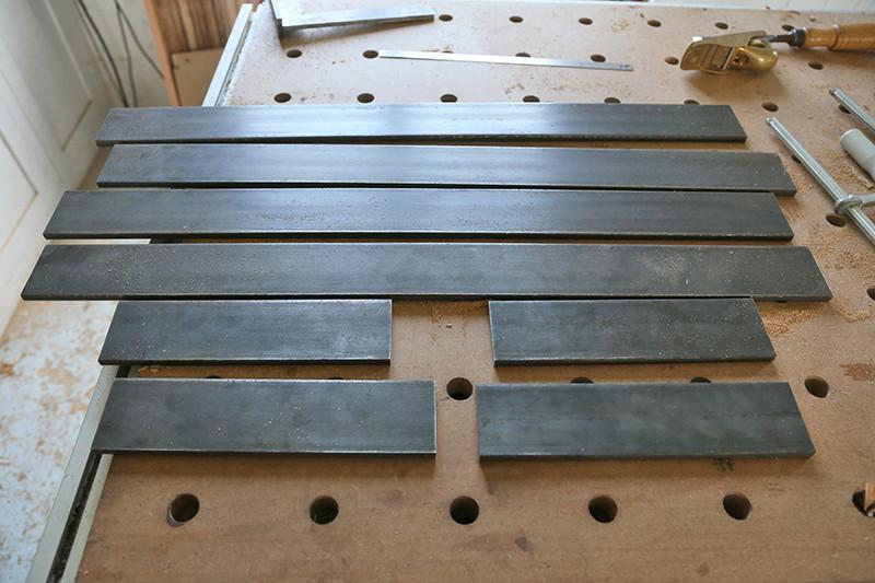 Une console bois et acier. 13_avr15