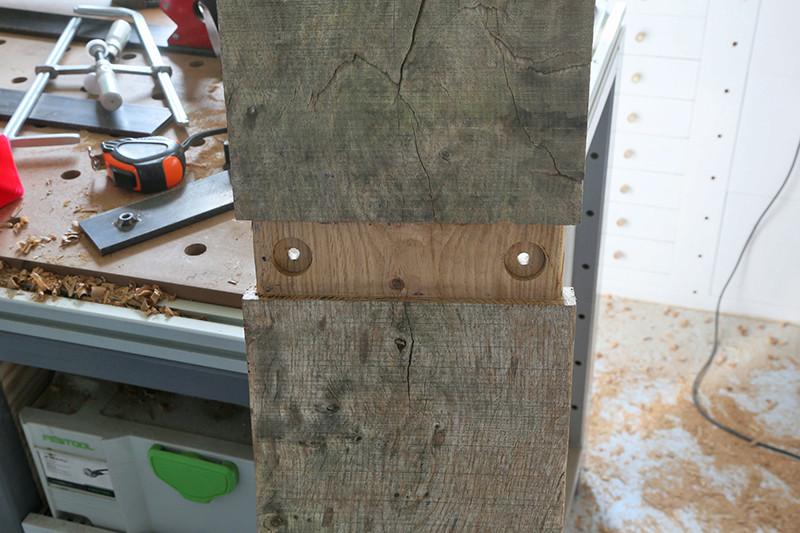 Une console bois et acier. 14_avr12