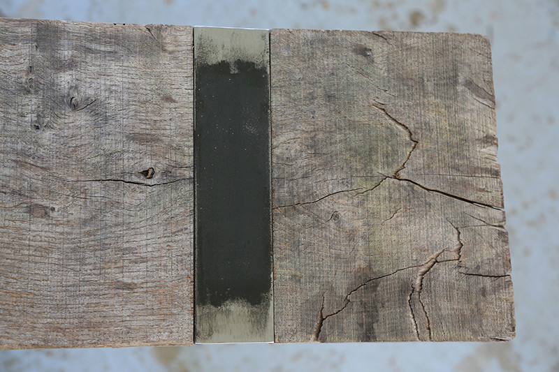 Une console bois et acier. 14_avr19
