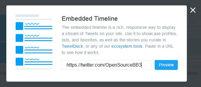 [widget] Timeline de Twitter para los foros Twitte14
