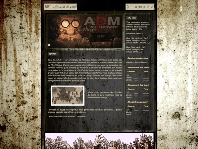 [EVENT] ADM : L'avènement des morts Event10