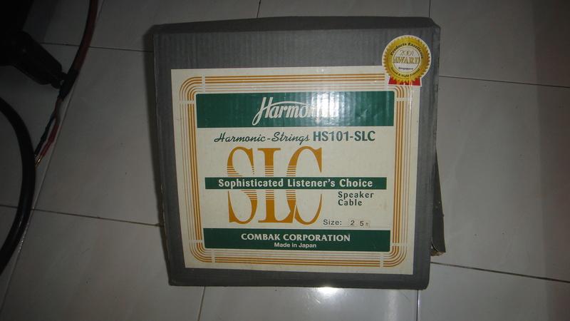 Harmonix HS101-SLC speaker cable Dsc06419