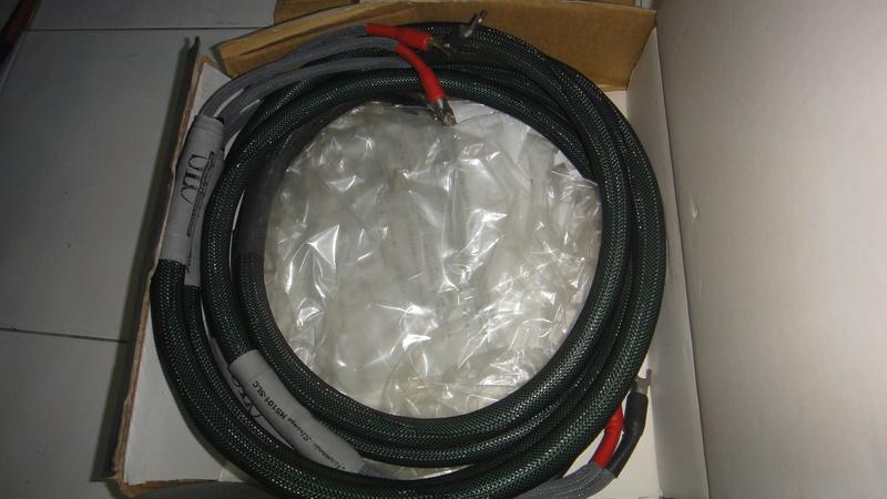 Harmonix HS101-SLC speaker cable Dsc06420