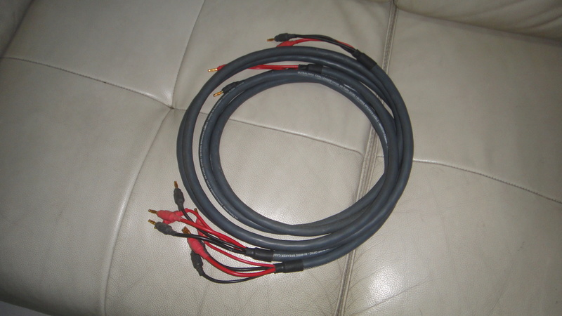 Ultralink challenger 1412 bi-wire speaker cable Dsc06456