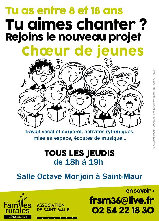 ST-MAUR (36) - Projet Choeur de jeunes _* 001164
