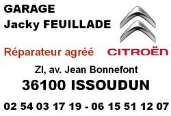 zj11.. ISSOUDUN - GARAGE CITROËN FEUILLADE Issoud10
