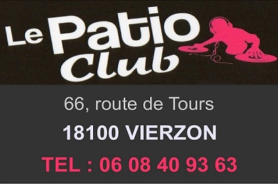 zj04.  VIERZON - LE PATIO CLUB - Dancing  Patio_10