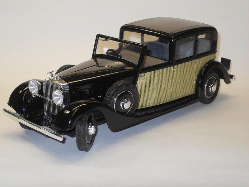 "Hispano-Suiza K6 - 1/24 (Boîte ""noire"") Sdc10912"