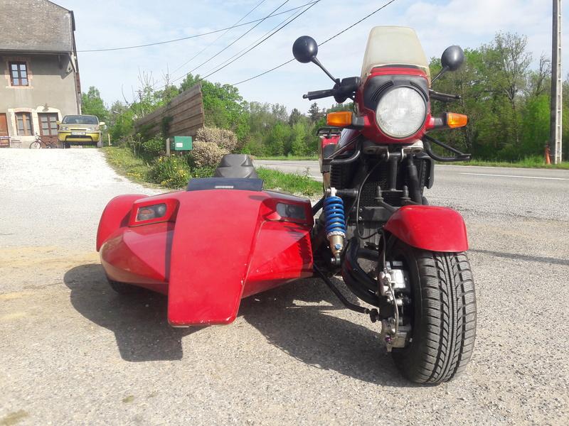 K100 and Side Bike Comanche K100_c11