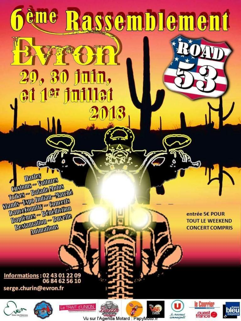 "Road 53 (6 ieme concentre ) Evron 53 "" 29-30-1 06/07 2018 6e-ras10"