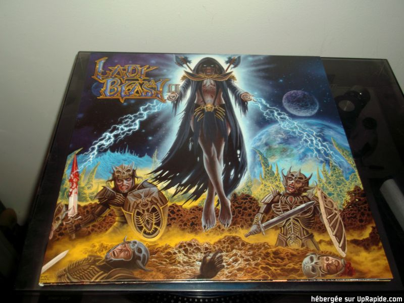 LADY BEAST Vicious Breed (2017) Heavy Metal USA Lady_b13