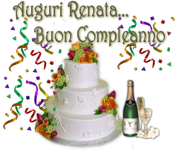 Buon compleanno Renata!!! Renata10