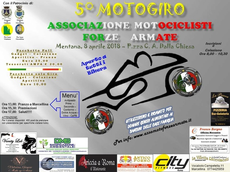 Forum gratis : Associazione Motociclisti Forze Armate - Portale 29177210