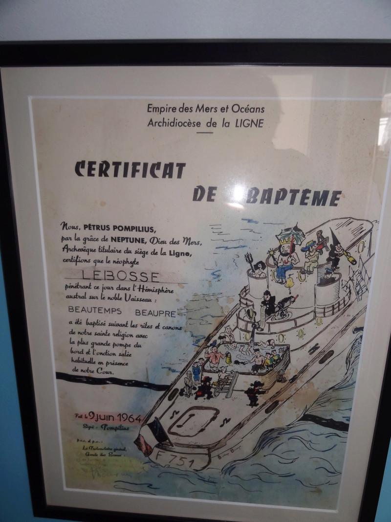 [ Les traditions dans la Marine ] Les diplômes de la Ligne - Page 5 00110