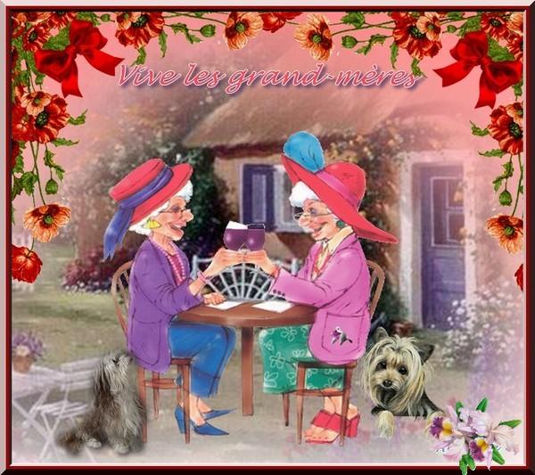 Vote sur le thème Fête des Grands-mères Adelet13