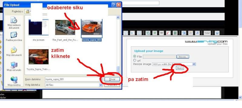 Kako postaviti slike na forum Bezime13
