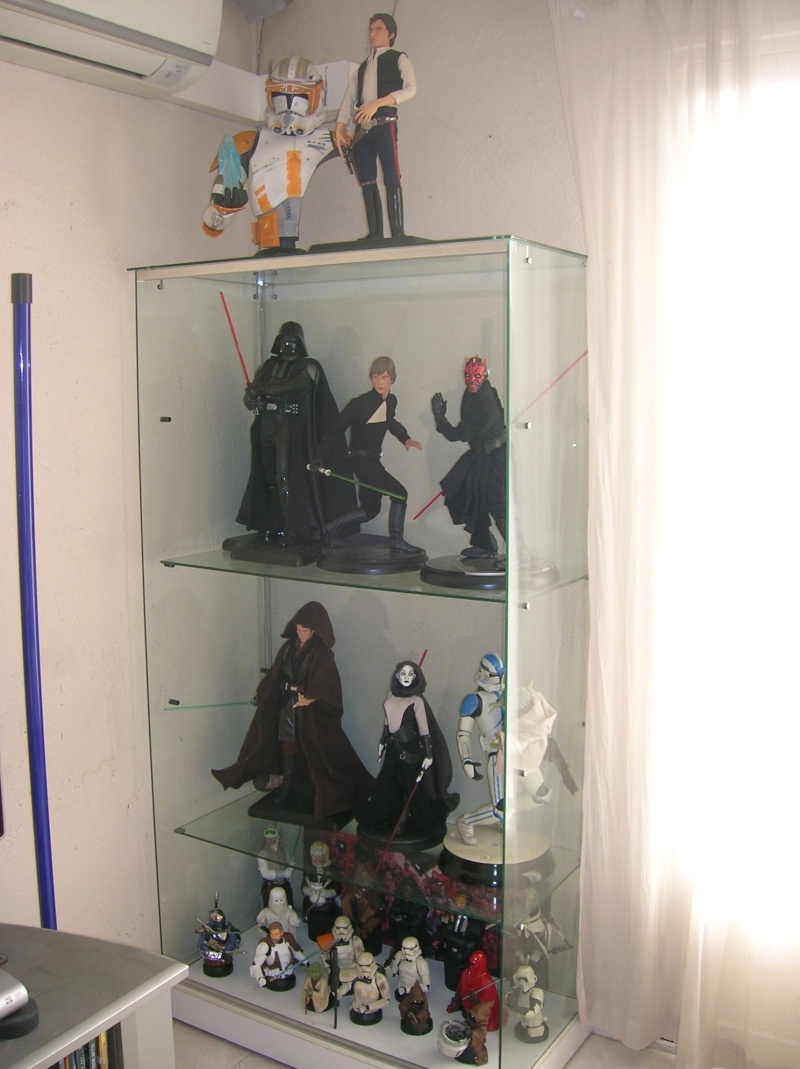 Collection n°117: ma petite collect SW et marvel 127