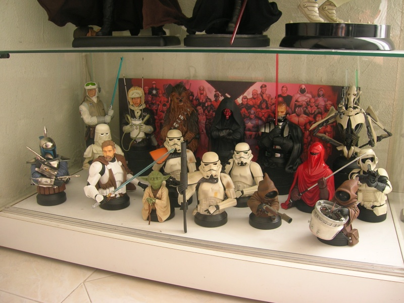 Collection n°117: ma petite collect SW et marvel 525