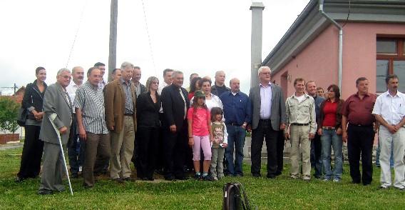Županijska i lokalna podrška HSS-u Saborsko. B10