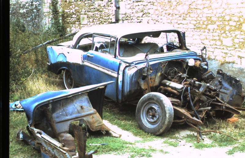 Epaves Chevy 1956