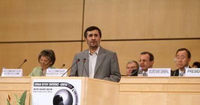 Mahmoud Ahmadinejad : Conférence de Durban II 1-15410
