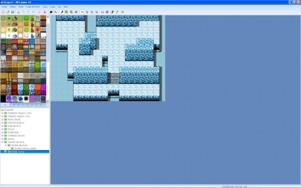 Faire une partie de grotte souterraine glacée Screen28