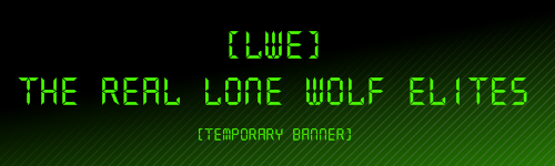 The Real Lone Wolf Elites Guild Wars Clan